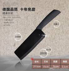 antibacterial chef knife 6 5 black ceramic kitchen knife fruit