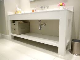 jared meadors custom cabinets houston bath vanity console open