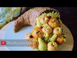 buttercream horn of plenty cake cornucopia tutorial harvest