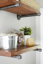 rustic metal shelves best 25 metal shelves ideas on pinterest metal shelving metal