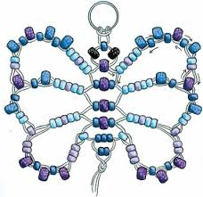 how to make beaded key chains butterfly key chains and beads