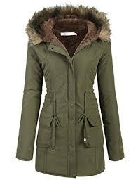 Warm Winter Coats For Women Amazon Com Meaneor Womens Hooded Warm Winter Faux Fur Lined
