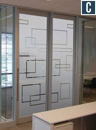 Exterior Office Doors Privacy Vinyl For Glass Doors Frosted Vinyl For Conference Rooms