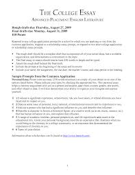 how to head a college application essay   Template how to head a college application essay