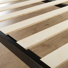 Platform Bed Frame King Wood Bed Frames Replacement Wood Bed Rails Queen Bed Slats Dimensions