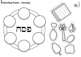 seder plate for kids fantastic exodus coloring pages for kids with passover and seder
