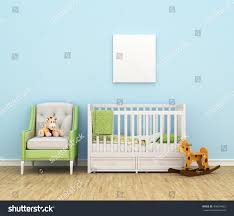 Bed Sofa Childrens Room Bed Sofa Toys Empty Stock Illustration 458604022