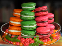 easter or engagement macarons achieving the right color u2013 one