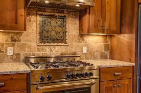 travertine kitchen backsplash 4 rustic contemporary rustic