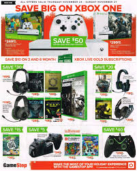 xbox headset black friday gamestop u0027s black friday offers include deals on new consoles
