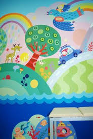 Creative Wall Murals For Kids Wall Murals Mountains And Walls - Mural kids room