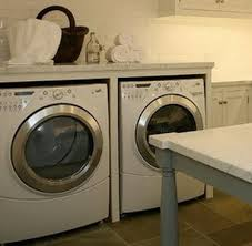diy laundry room countertop over washer dryer removeandreplace com