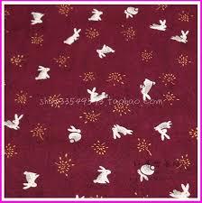 rabbit material online get cheap rabbit print cotton material aliexpress