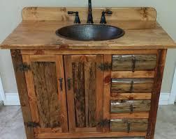 Rustic Bathroom Vanity by Rustic Bathroom Etsy