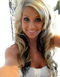 dark hair underneath light on top hair with color dark underneath love it madisyn lincoln lincoln