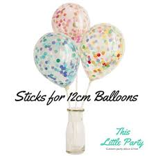 balloon sticks balloon sticks 3 pkt for use with 12cm or 28cm balloons this