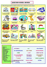 48 best question words images on pinterest teaching english