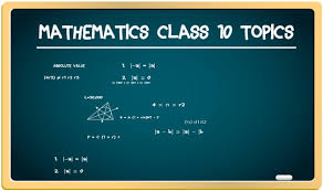 icse class 10 maths topic wise weightage important topics byjus