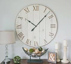 Large Mirrored Wall Clock 25 Best Oversized Wall Clocks Ideas On Pinterest Rustic Wall