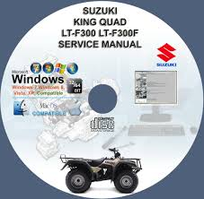 suzuki king quad 300 lt f300 ltf300 lt f300f service repair manual
