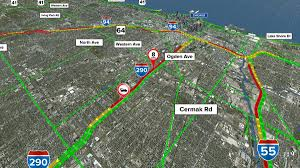 Chicago Map Traffic by Chicago Crash Chicagocrash Twitter