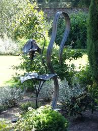Wrought Iron Garden Decor Iron Garden Sculptures Outdoor Sculpture Wrought Iron Garden