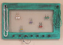 earrings necklace holder images Earring and necklace holder jewelry organizer earring holder jpg