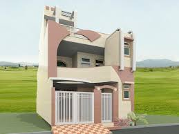 front elevation design for a double story home gharexpert