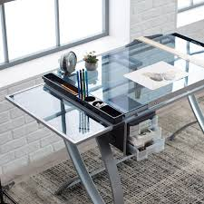 Drafting Table Ls Studio Designs Futura Advanced Drafting Table With Side Shelf