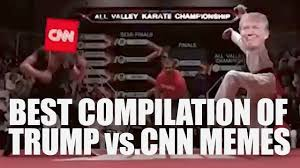 Cnn Meme - meme wars vol 1 trump vs cnn memes best of compilation youtube