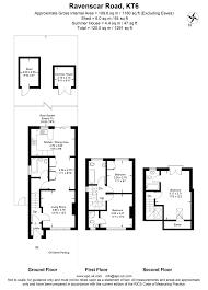 Estate Agent Floor Plan Software 3 Bedroom House To Let In Ravenscar Road Surbiton Kt6 Hawes
