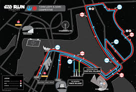 Map Run Route by Run Routes Star Wars Run Singapore 2017