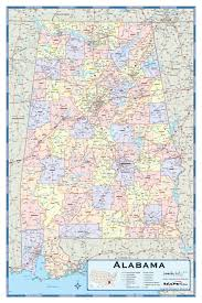 Alabama State Map Alabama Counties Wall Map Maps Com
