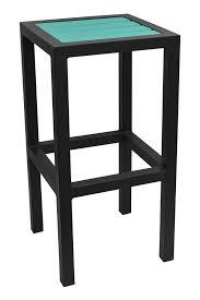 outdoor poly lumber restaurant bar stools