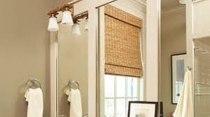 Framed Bathroom Mirror Wonderful Bathroom How To Frame A Bathroom Mirror Regarding