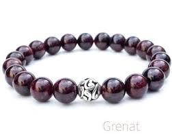 garnet gemstone bracelet images Garnet bracelet etsy jpg
