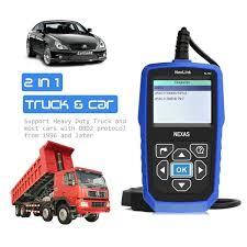 kenworth parts lookup amazon com heavy duty truck scanner nexas nl102 obd eobd hdobd
