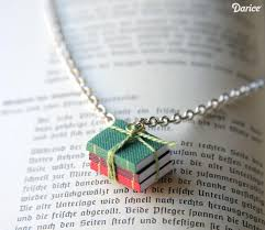 diy necklace images Book necklace diy for the book lover darice jpg