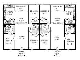 Duplex With Garage Plans Miscellaneous Duplex Floor Plans Design Interior Decoration