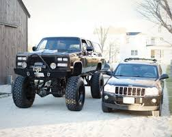 chevy jeep lifted chevy suburban 2500 rock crawler picture gallery