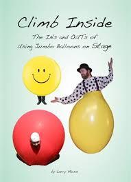 jumbo balloons climb inside balloon stunt guide book