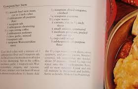 Alton Brown Beef Stew by Cooking Nick U0027s Books A Sparks Fan U0027s Food Blog Dear John