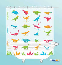 Science Is Awesome Periodic Table Of Elements Eva Shower Curtain Amazon Com Dinosaurs Shower Curtain Eva Vinyl Home U0026 Kitchen