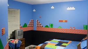 Super Mario Bedroom Decor Mario Themed Bedroom Super Mario Bros Themed Bedroom Hiconsumption