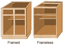 framed vs frameless cabinets coastside cabinets kitchen cabinets bathroom cabinets cabinetry