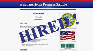 Interactive Resume Orkin Interactive Employment Portal A Welcome Home Resumes