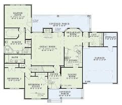 Atrium Ranch Floor Plans Traditional Style House Plan 3 Beds 2 00 Baths 1957 Sq Ft Plan