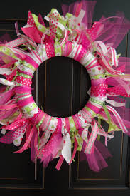 ribbon wreath maddyson s ribbon wreath diy