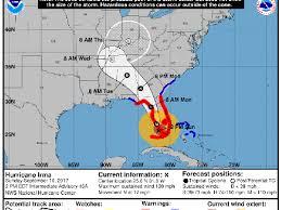 hurricane irma path update where the storm is heading next