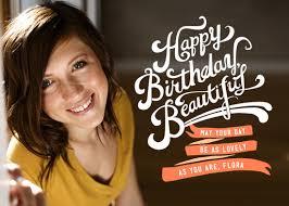 greeting card happy birthday beautiful at minted com
